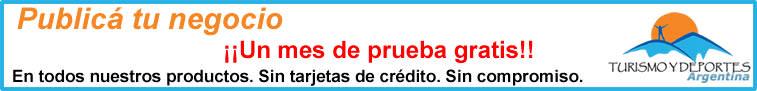 Publicidad gratis en Turismo y Deportes
