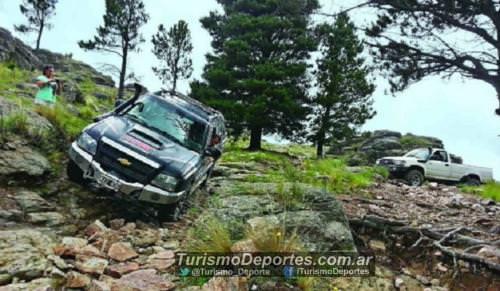 Offroad 4x4 a pueblo escondido cerro aspero