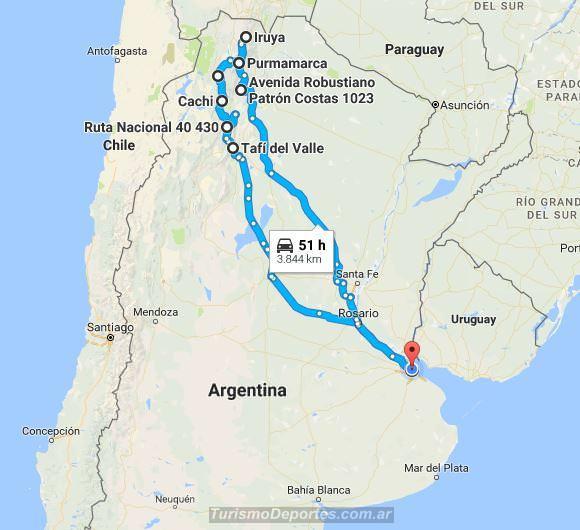 Viaje Buenos aires Norte argentino