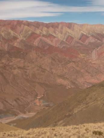 Cerro Hornacal 14 colores Jujuy