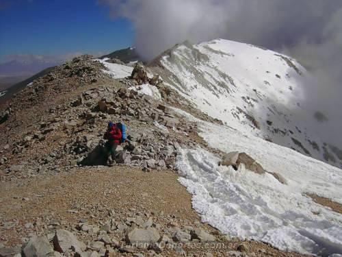 Cerro Nevado de Cachi en Salta