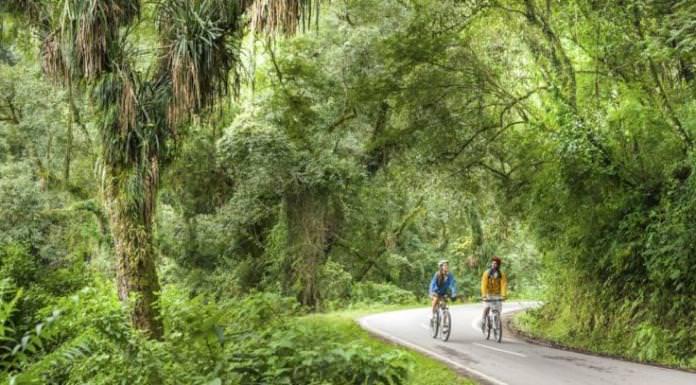 Ciclismo por la Quebrada de san lorenzo salta