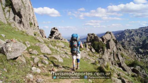 Trekking en Los Gigantes Cordoba