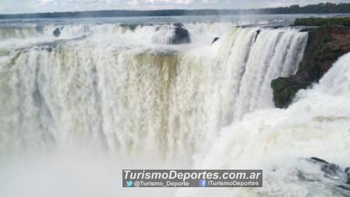Garganta del diablo - Cataratas del Iguazú lado Argentina