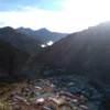 Ciudad de Iruya Salta vista aerea