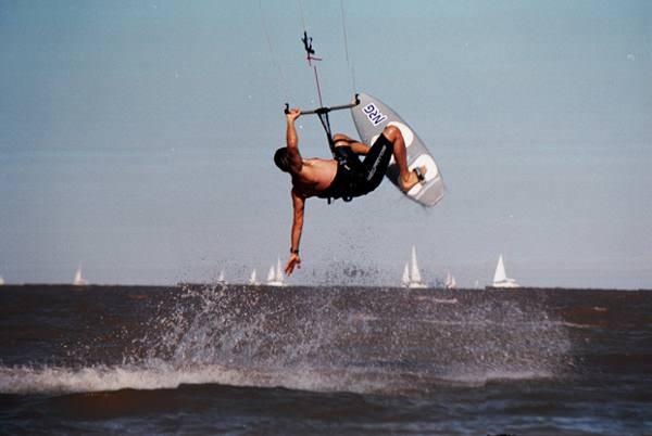Kitesurf en el Rio De La Plata 2