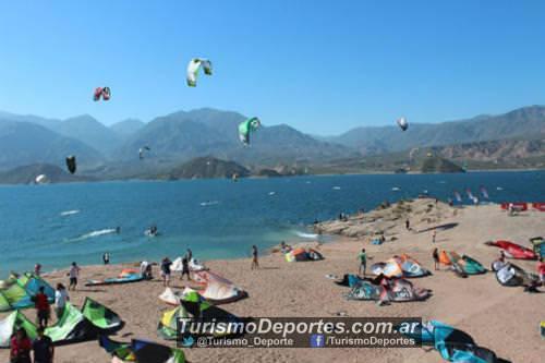 Kitesurf en potrerillos Mendoza