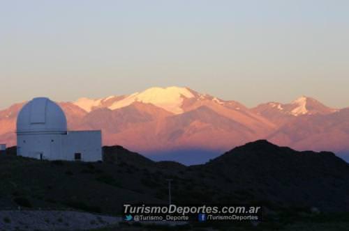 Observatorio astronomico en el Parque Nacional El leoncito San Juan