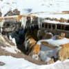 Puente Del Inca Mendoza nevado en Invierno