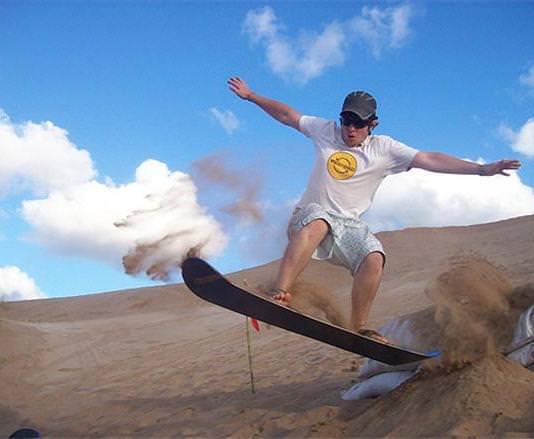 Sandboard Turismo Aventura en Mar Del Plata