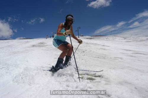 Ski en el cerro las leñas actividades de verano
