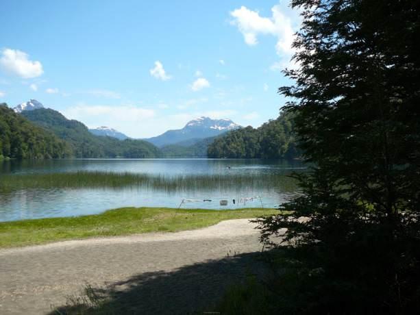 Lago espejo chico Neuquen