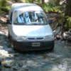 Camino offroad en Termas Del Queni