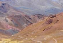 Cerros en Salta