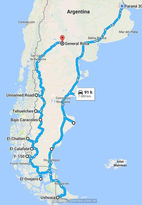 Viaje Buenos Aires Ushuaia