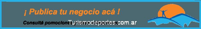 Publicá tu negocio en TurismoDeportes