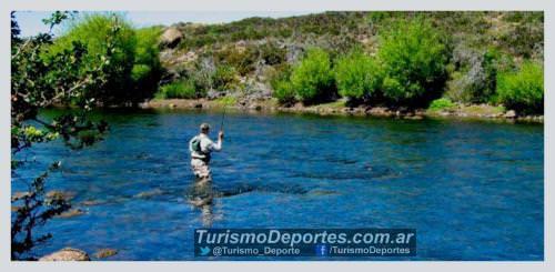 Pesca en Villa Pehuenia Alumine Neuquen