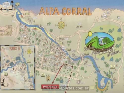 Mapa Alpa Corra Cordoba