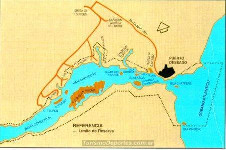 Mapa camino 4x4 ria y Bahía Uruguay Offroad