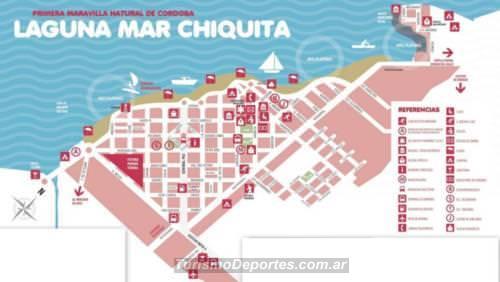 Mapa miramar cordoba argentina