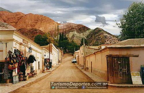 Tumbaya Jujuy pueblo