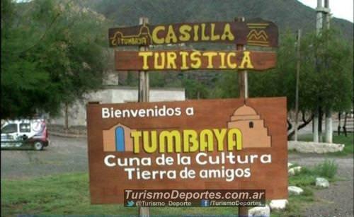 Cartel de entrada Tumbaya Jujuy