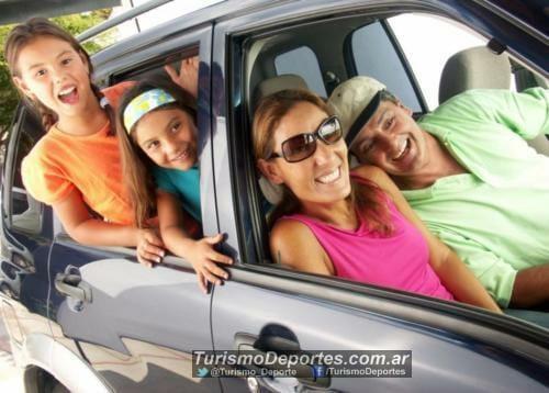 vacaciones en auto con familia